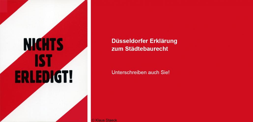 Düsseldorfer Erklärung